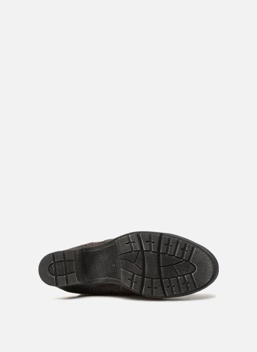 Bottes Jana shoes Minto 25662 Noir vue haut