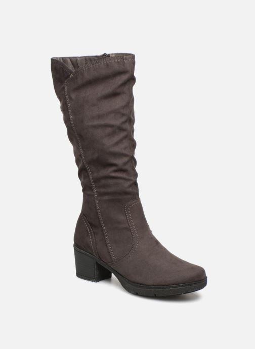 Bottes Jana shoes Minto 25662 Noir vue détail/paire