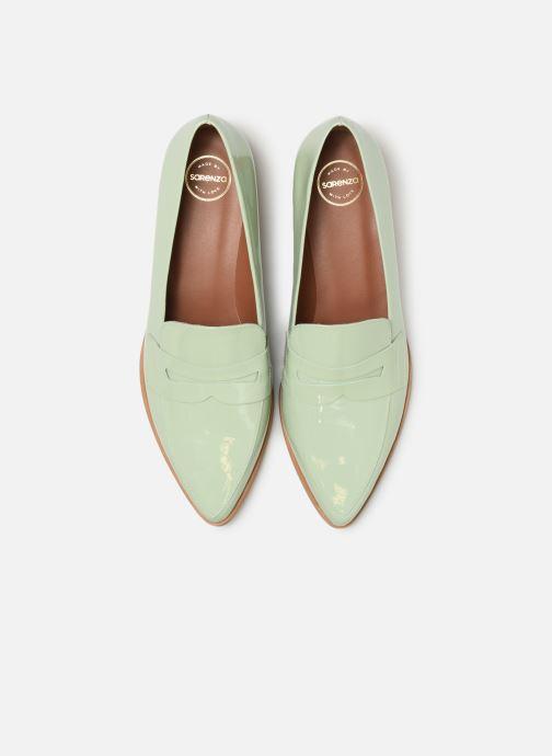 Slipper Made by SARENZA Pastel Affair Mocassins #2 grün schuhe getragen