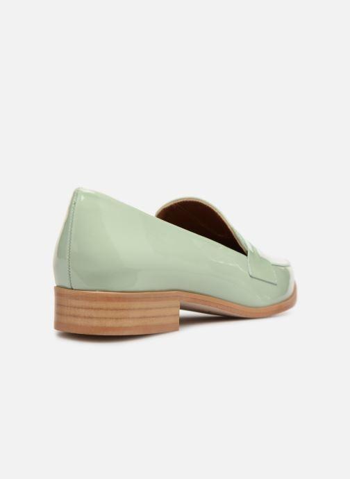 Slipper Made by SARENZA Pastel Affair Mocassins #2 grün ansicht von vorne