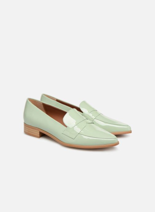 Vernis Cuir Sarenza Made 2 Pastel By Mocassins Affair Vert xY0xqwO1Z