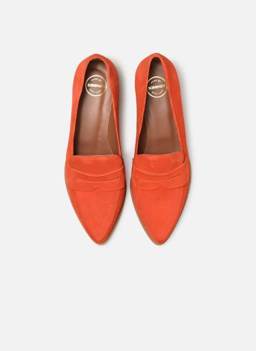 Mocassins Made by SARENZA Pastel Affair Mocassins #2 Orange vue portées chaussures