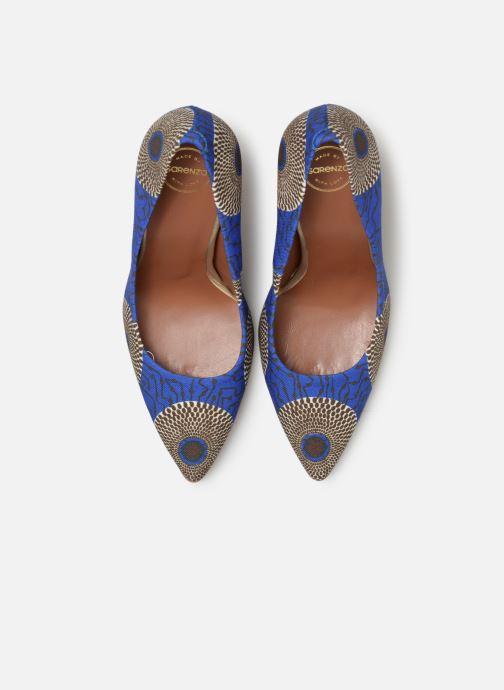 Zapatos de tacón Made by SARENZA Pastel Affair Escarpins #12 Azul vista del modelo