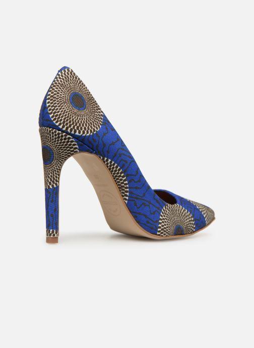 High heels Made by SARENZA Pastel Affair Escarpins #12 Blue front view