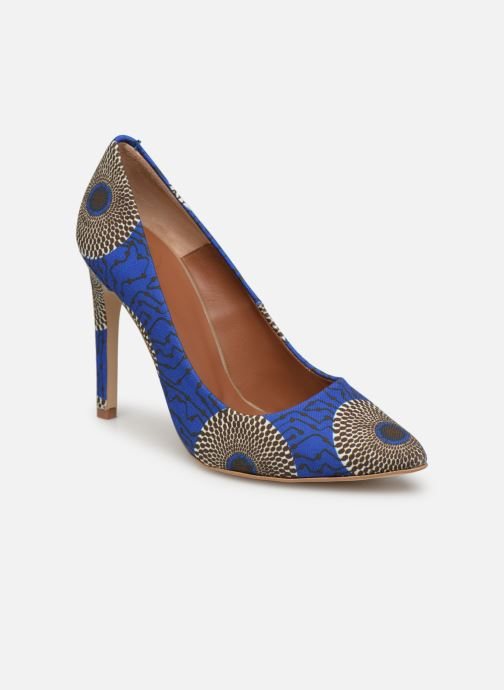 High heels Made by SARENZA Pastel Affair Escarpins #12 Blue view from the right