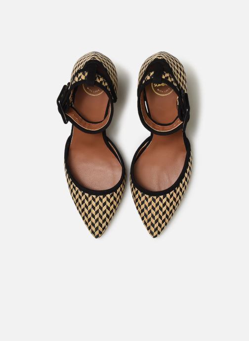 Zapatos de tacón Made by SARENZA UrbAfrican Escarpins #2 Beige vista del modelo