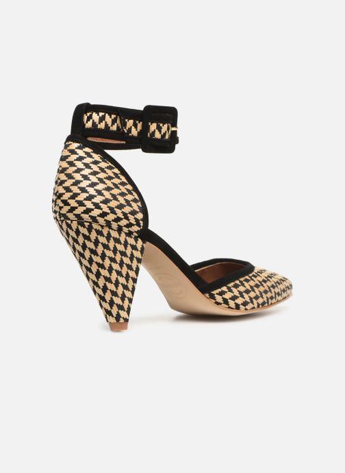 High heels Made by SARENZA UrbAfrican Escarpins #2 Beige front view