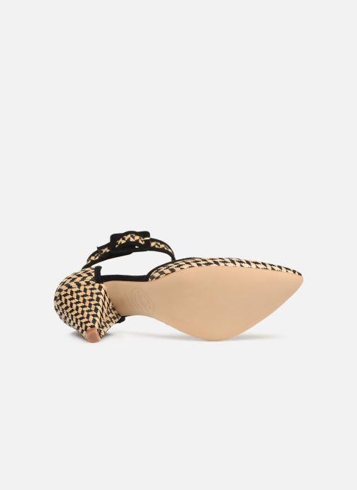 Zapatos de tacón Made by SARENZA UrbAfrican Escarpins #2 Beige vista de arriba