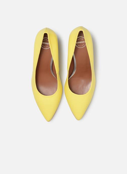 Zapatos de tacón Made by SARENZA Pastel Affair Escarpins #5 Amarillo vista del modelo