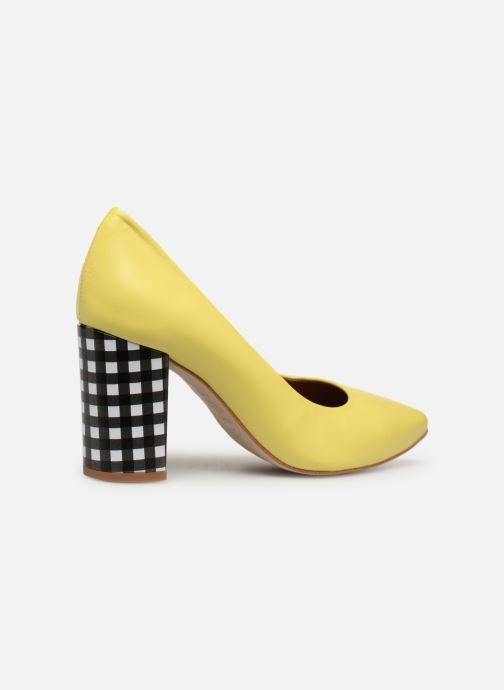 High heels Made by SARENZA Pastel Affair Escarpins #5 Yellow front view