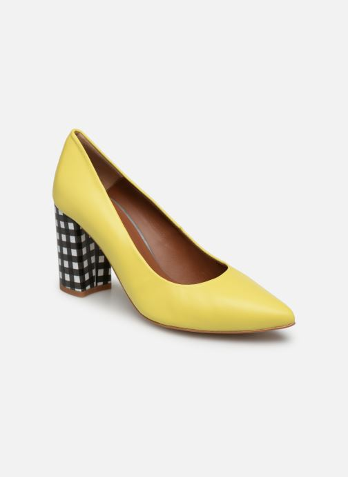 High heels Made by SARENZA Pastel Affair Escarpins #5 Yellow view from the right