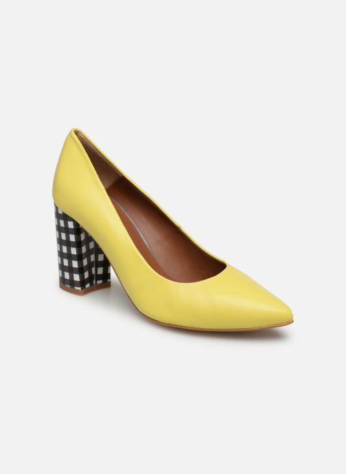 Zapatos de tacón Made by SARENZA Pastel Affair Escarpins #5 Amarillo vista lateral derecha