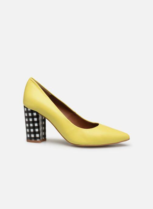 High heels Made by SARENZA Pastel Affair Escarpins #5 Yellow detailed view/ Pair view