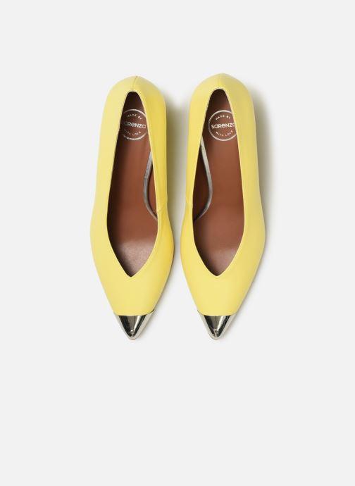 Zapatos de tacón Made by SARENZA Pastel Affair Escarpins #6 Amarillo vista del modelo