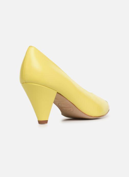 Zapatos de tacón Made by SARENZA Pastel Affair Escarpins #6 Amarillo vista de frente