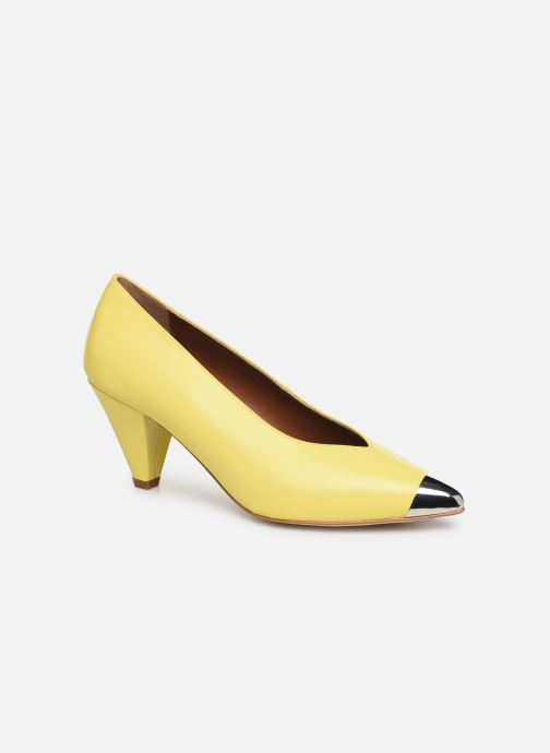Zapatos de tacón Made by SARENZA Pastel Affair Escarpins #6 Amarillo vista lateral derecha