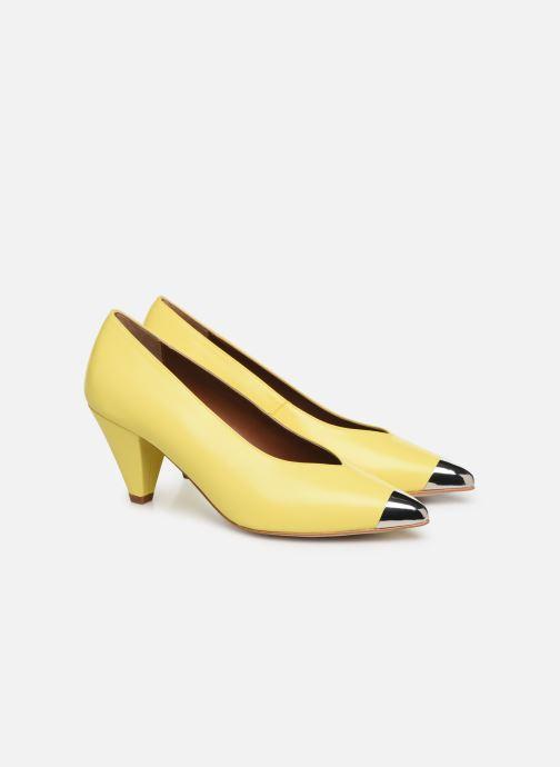 Zapatos de tacón Made by SARENZA Pastel Affair Escarpins #6 Amarillo vistra trasera