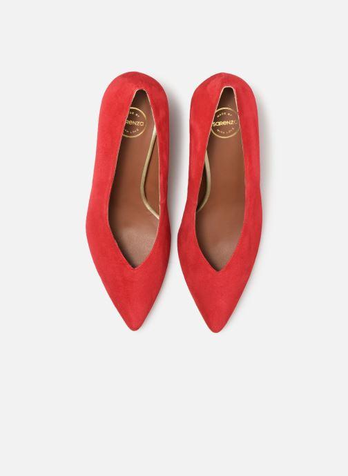 Décolleté Made by SARENZA UrbAfrican Escarpins #6 Rosso modello indossato