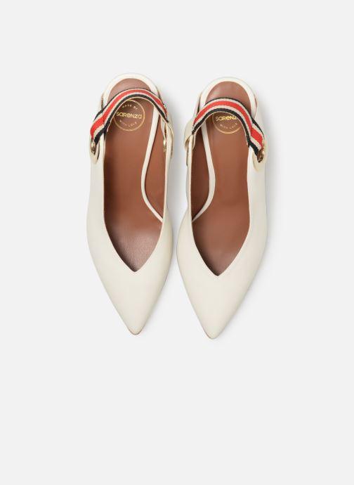 Zapatos de tacón Made by SARENZA Sport Party Escarpins #3 Blanco vista del modelo