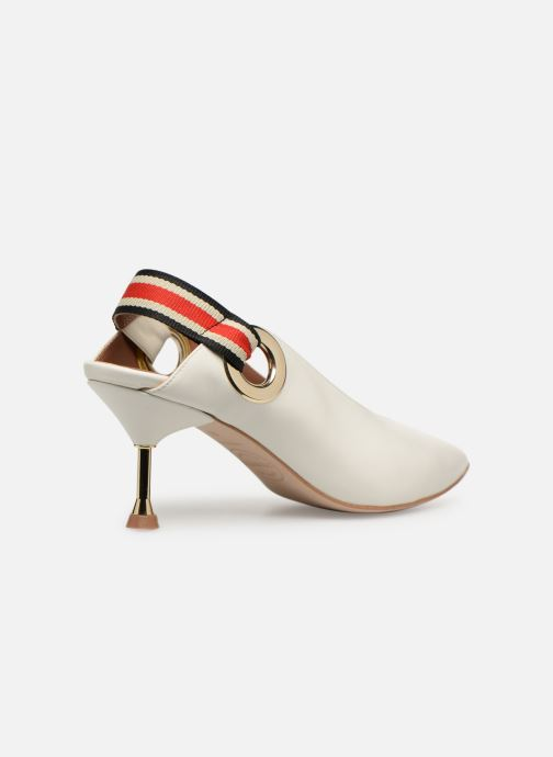 High heels Made by SARENZA Sport Party Escarpins #3 White front view