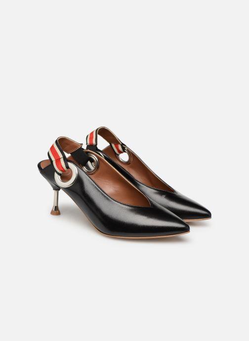 High heels Made by SARENZA Sport Party Escarpins #3 Black back view