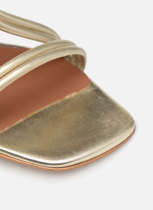 Sandali e scarpe aperte Made by SARENZA UrbAfrican Sandales à Talons #3 Oro e bronzo immagine sinistra
