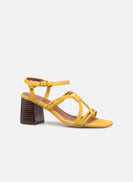 Sandales et nu-pieds Made by SARENZA UrbAfrican Sandales à Talons #3 Jaune vue détail/paire