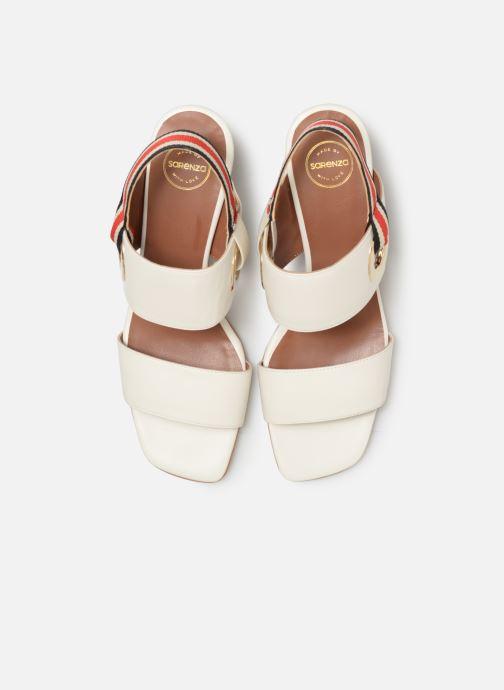 Sandali e scarpe aperte Made by SARENZA Sport Party Sandales à Talons #2 Bianco modello indossato