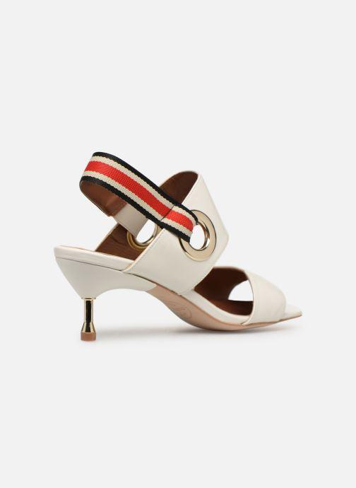 Sandales et nu-pieds Made by SARENZA Sport Party Sandales à Talons #2 Blanc vue face