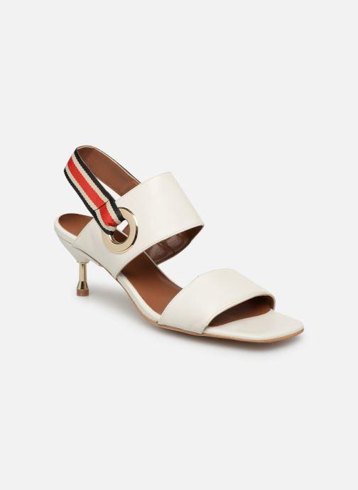 Sandales et nu-pieds Made by SARENZA Sport Party Sandales à Talons #2 Blanc vue droite