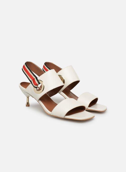 Sandales et nu-pieds Made by SARENZA Sport Party Sandales à Talons #2 Blanc vue derrière