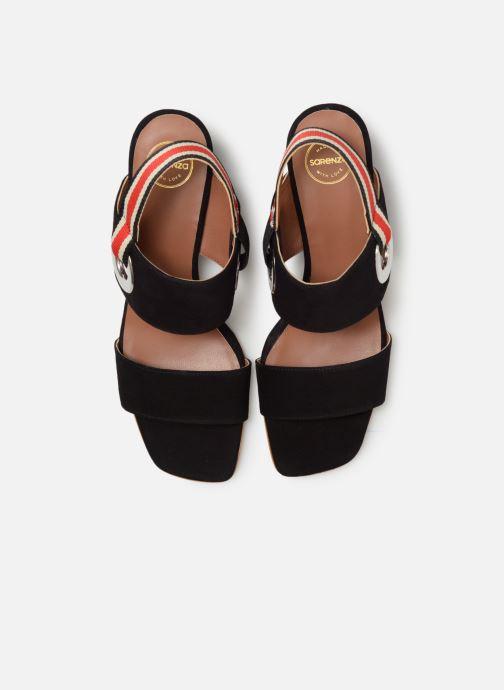 Sandalen Made by SARENZA Sport Party Sandales à Talons #2 schwarz schuhe getragen