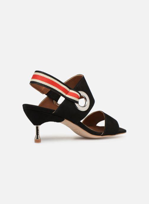 Sandales et nu-pieds Made by SARENZA Sport Party Sandales à Talons #2 Noir vue face