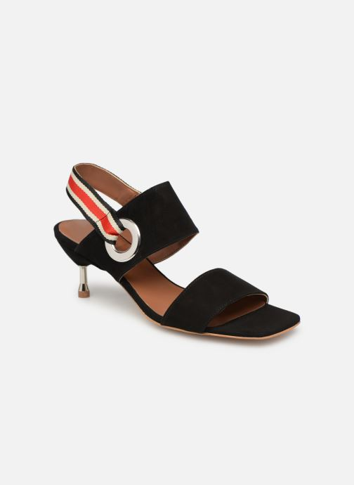 Sandals Made by SARENZA Sport Party Sandales à Talons #2 Black view from the right