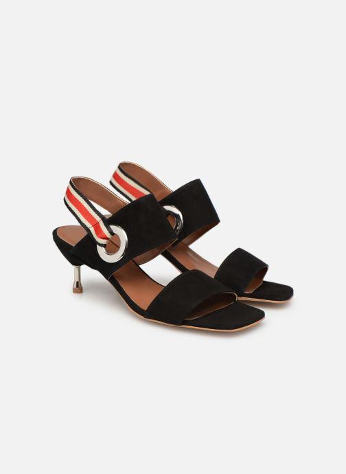 Sandalen Made by SARENZA Sport Party Sandales à Talons #2 schwarz ansicht von hinten