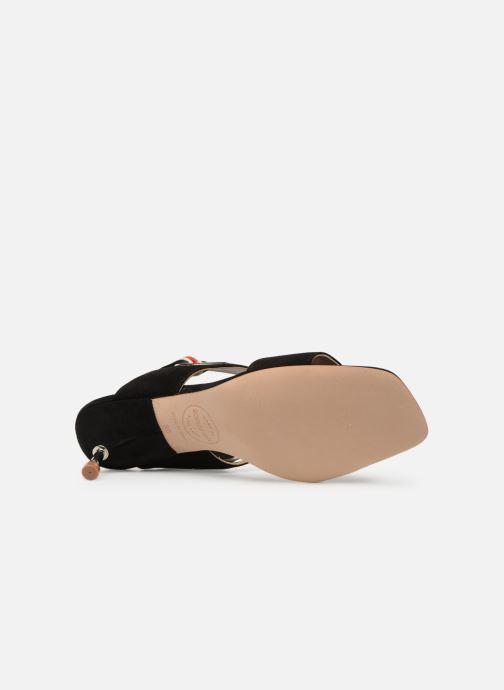 Sandales et nu-pieds Made by SARENZA Sport Party Sandales à Talons #2 Noir vue haut