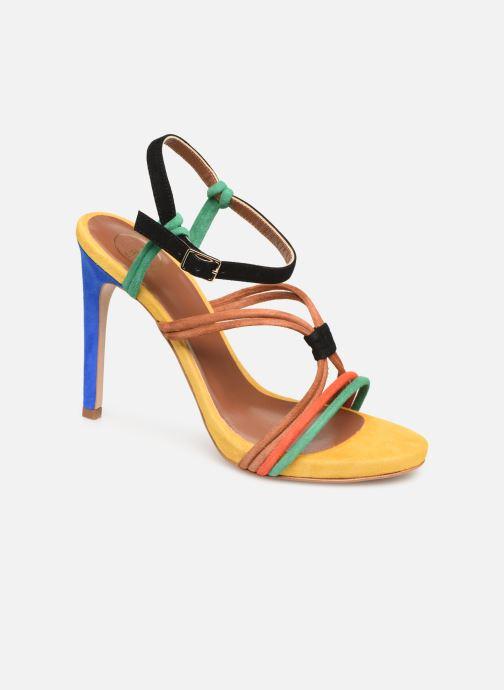 Sandales et nu-pieds Made by SARENZA UrbAfrican Sandales à Talons #7 Multicolore vue droite