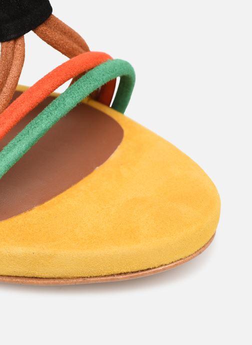 Sandales et nu-pieds Made by SARENZA UrbAfrican Sandales à Talons #7 Multicolore vue gauche