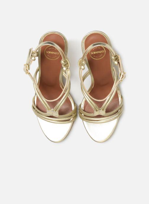 Sandalias Made by SARENZA UrbAfrican Sandales à Talons #7 Oro y bronce vista del modelo