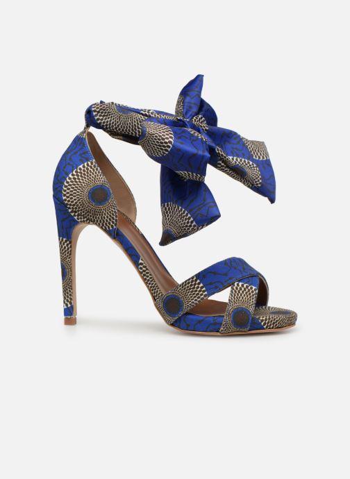 Sandales et nu-pieds Made by SARENZA UrbAfrican Sandales à Talons #9 Bleu vue détail/paire