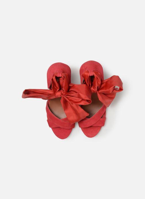 Sandales et nu-pieds Made by SARENZA UrbAfrican Sandales à Talons #9 Rouge vue portées chaussures
