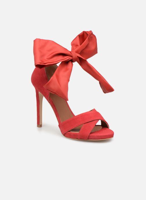 Sandales et nu-pieds Made by SARENZA UrbAfrican Sandales à Talons #9 Rouge vue droite