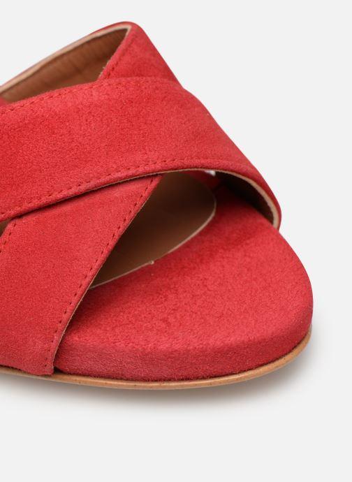 Sandales et nu-pieds Made by SARENZA UrbAfrican Sandales à Talons #9 Rouge vue gauche