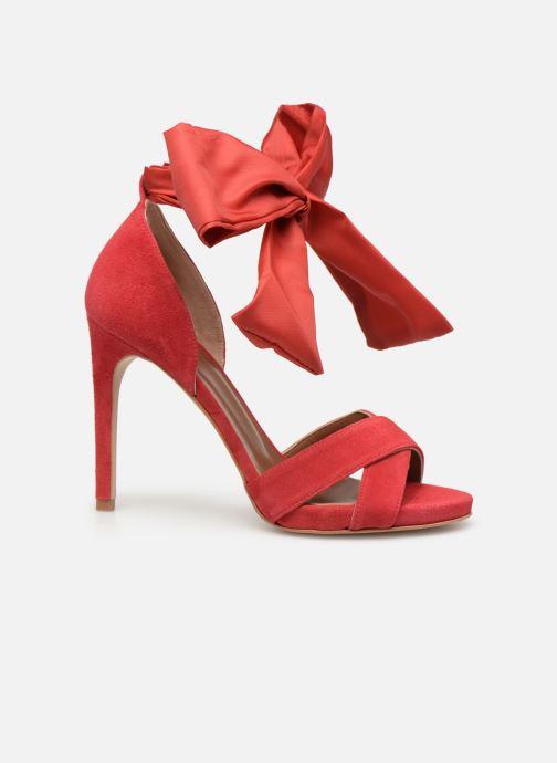 Sandales et nu-pieds Made by SARENZA UrbAfrican Sandales à Talons #9 Rouge vue détail/paire