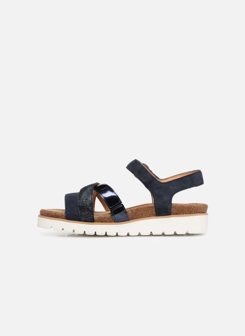 Sandals Mephisto Thina C Blue front view