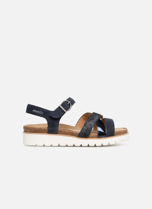Sandals Mephisto Thina C Blue back view