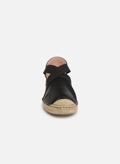 Espadrilles Georgia Rose Zitella Noir vue portées chaussures