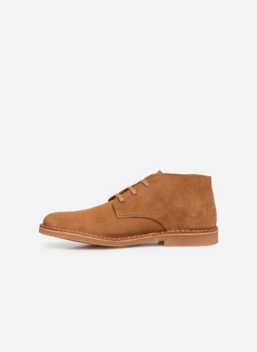 Bottines et boots Selected Homme SLHROYCE DESERT LIGHT SUEDE BOOT W Beige vue face