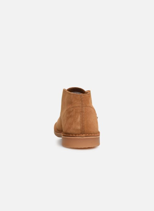 Bottines et boots Selected Homme SLHROYCE DESERT LIGHT SUEDE BOOT W Beige vue droite