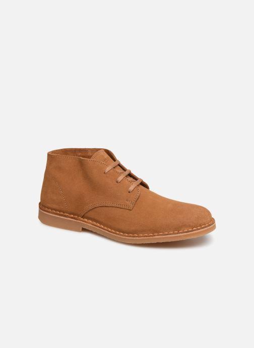 Boots en enkellaarsjes Selected Homme SLHROYCE DESERT LIGHT SUEDE BOOT W Beige detail